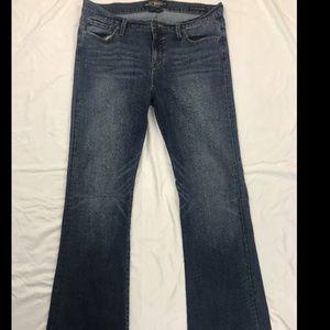 Lucky Brand Women's Blue Brooke Flare Jeans Sz 14
